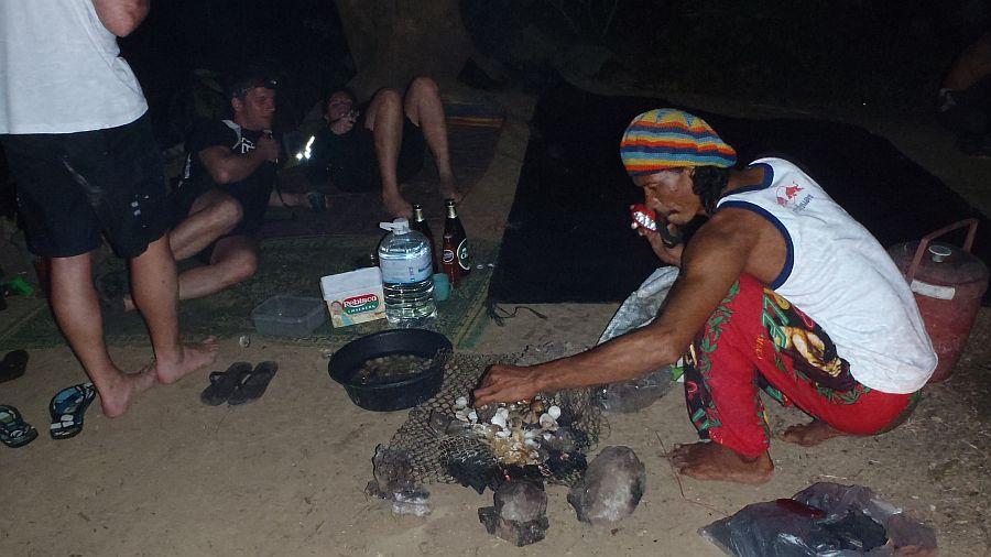 Barbecue auf Ko Yang