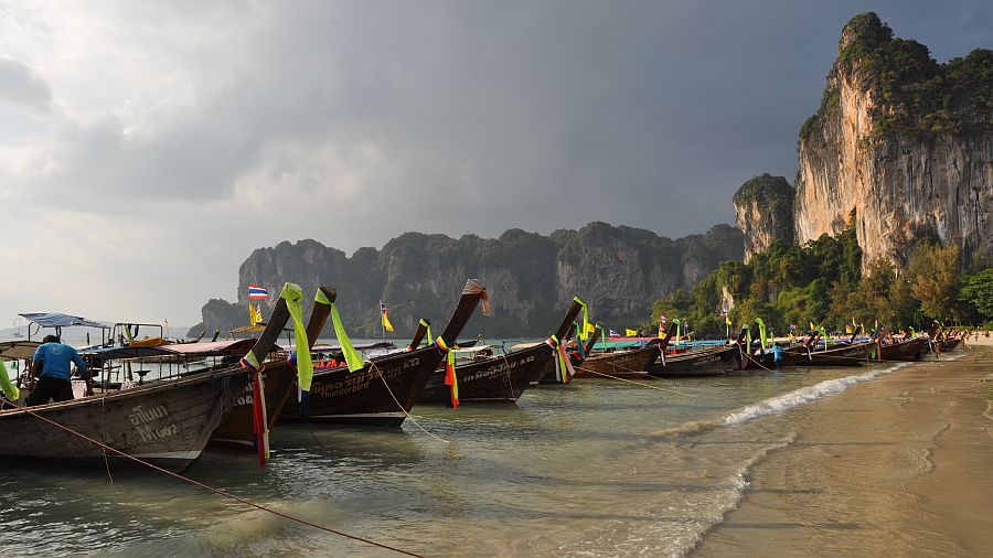 rai-leh-beach-long-tail-boats
