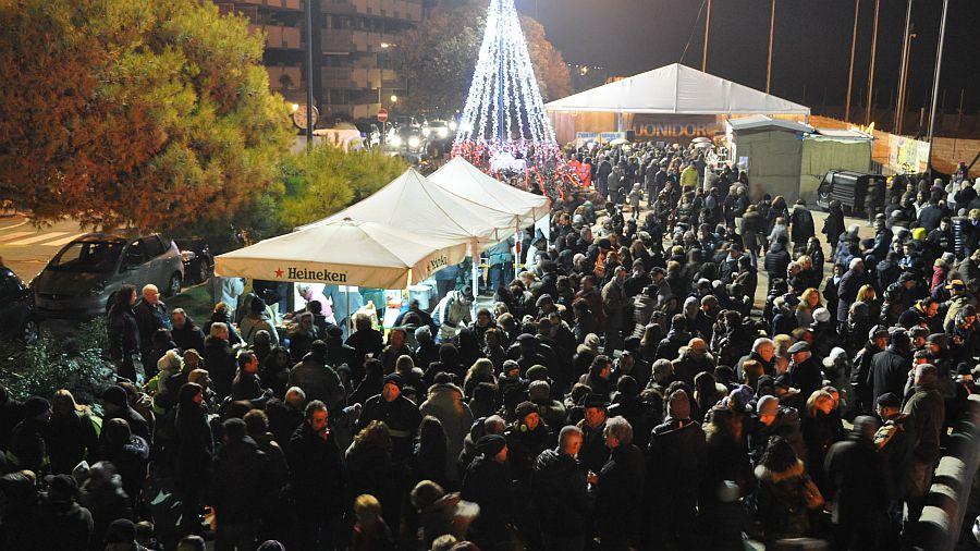 Foghera-Lignano-Zuschauer