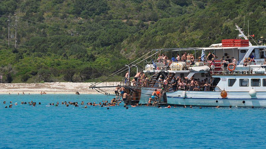 antipaxos-ausflugsboote
