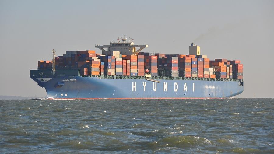 containerschiff-solent