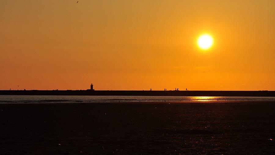 sunset-ijmuiden