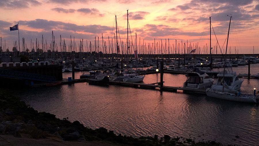 sunset-roompot-marina