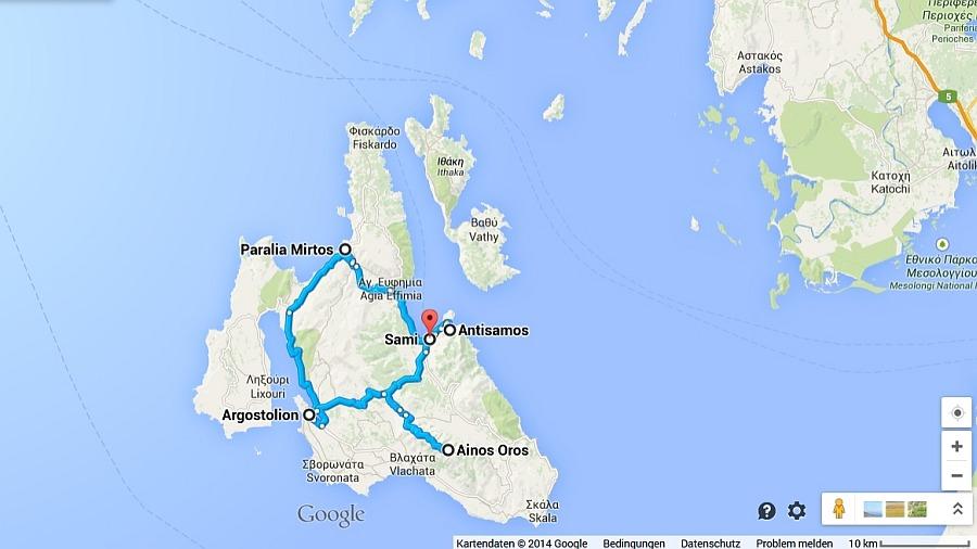 kefalonia-inselrundfahrt-karte