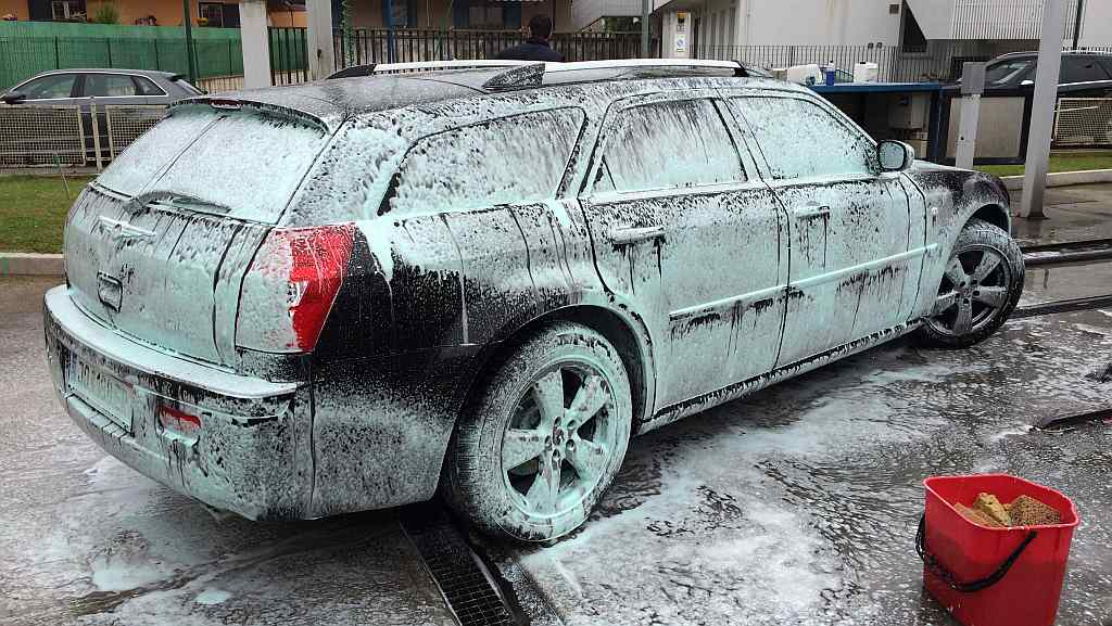 Auto Waschen Lignano Esso Unter Segeln