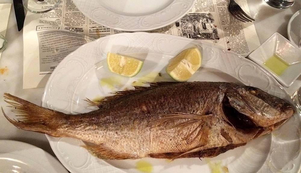 paxos-longos-gegrillter-fisch
