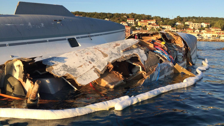 Yacht Totalverlust