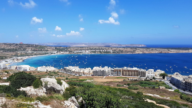 Malta Mellieha Bay