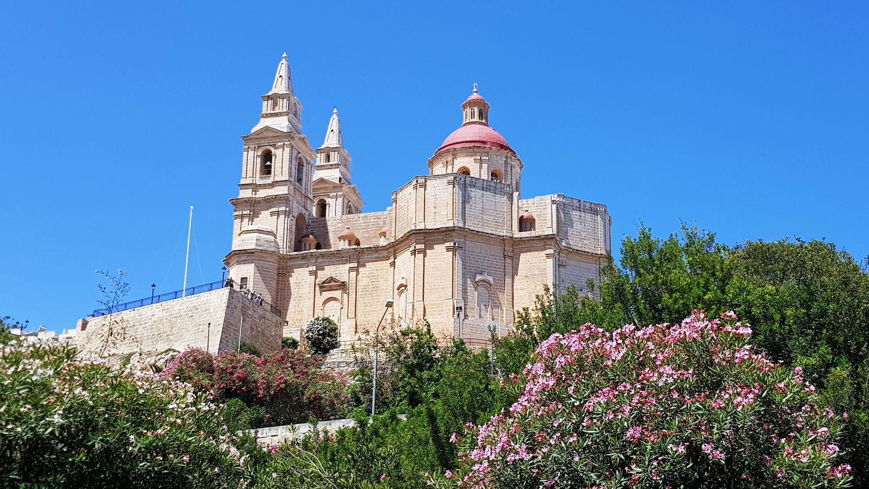 Malta Mellieha Kirche
