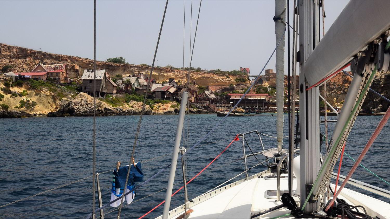 Anchor Bay auf Malta: Popeye Village