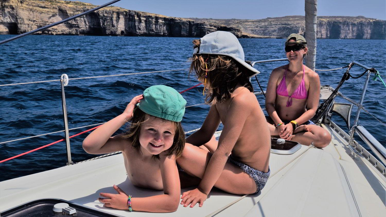 Malta: Segeltörn mit Kinder