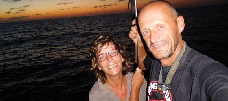 Weltumsegelung SY Atanga: Sabine und Joachim Willner