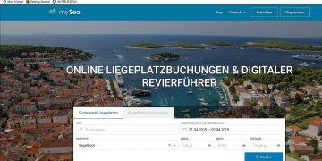 mySea: online Liegeplätze buchen